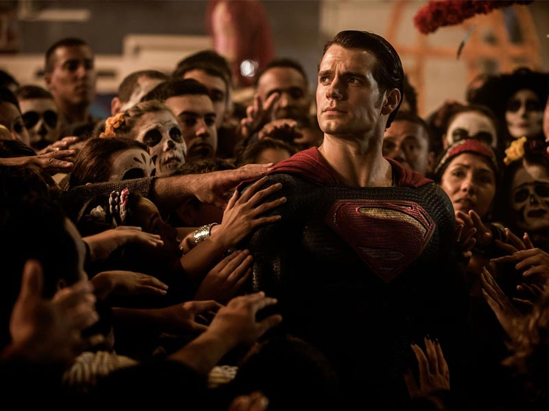 Batman vs Superman Henry Cavill Dia de Los Muertos