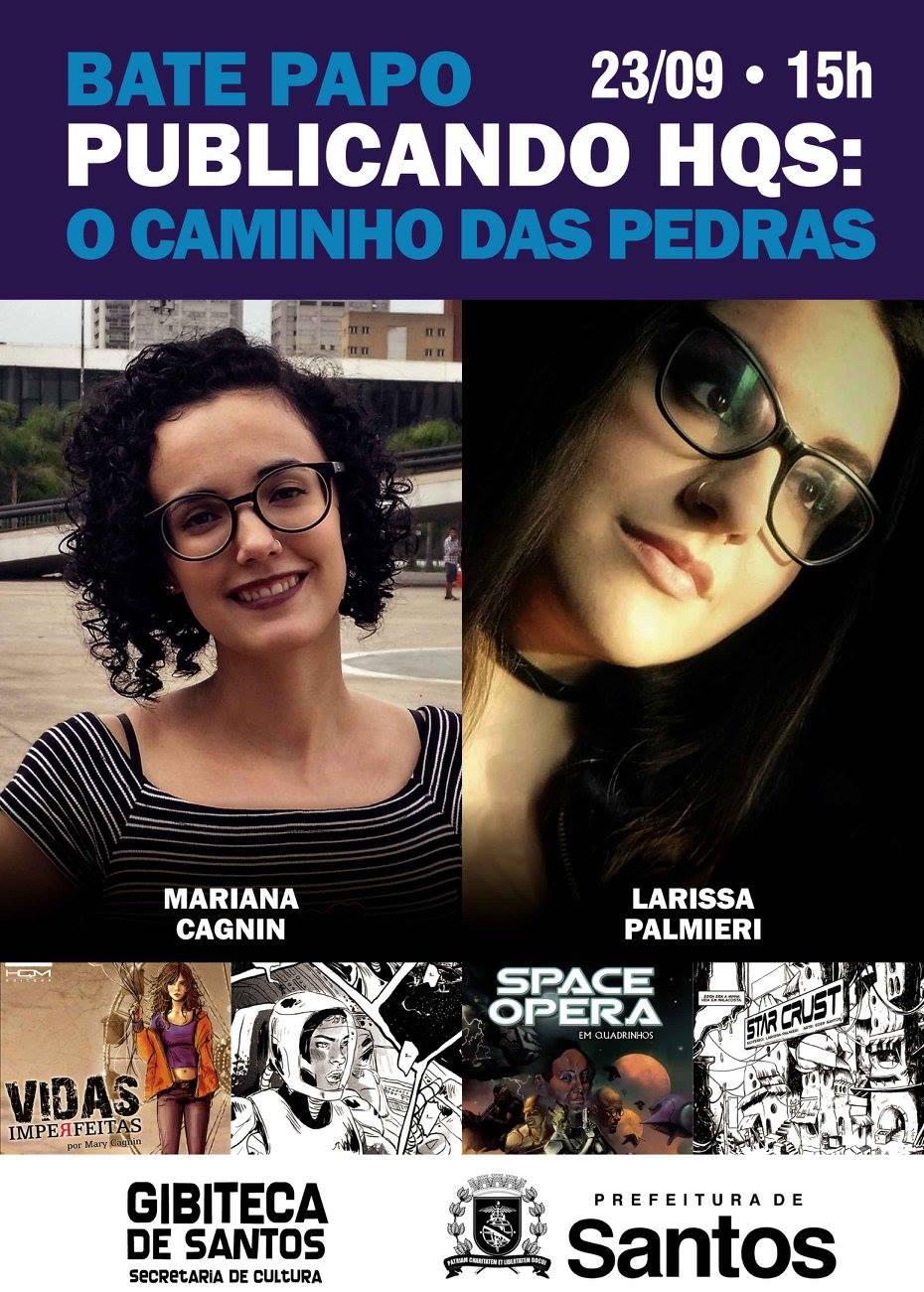 Publicando HQs – Bate Papo na Gibiteca de Santos